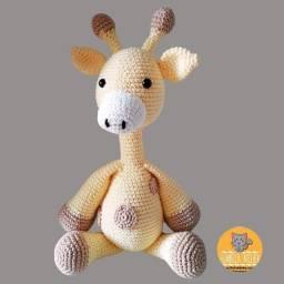 Girafa Amigurumi