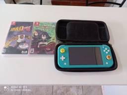 Nintendo switch lite muito novo