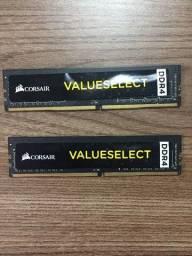 Memória Corsair 8GB (2x4 GB), 2133MHz, DDR4, CL15 - CMV4GX4M1A2133C15