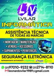 Suporte técnico Pc, notebook, tablet e celular e segurança eletrônica