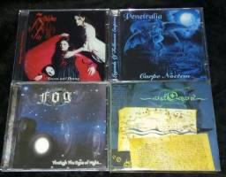 Cds Black,Trhash,Death,Doom,Gothic Metal.