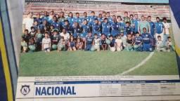 Pôster Placar - Nacional campeão Amazonense 2002