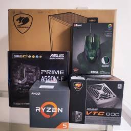 PC GAMER Novo Ryzen 5 3400G + Vega 11 + DDR4 8GB