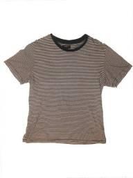 camisa listrada f21