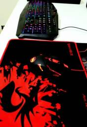 Kit Gamer Redragon(Teclado, mouse e mousepad)