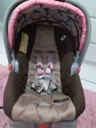 Bebê conforto graco com capa para frio e base isofix Click Connect 0-13 kilos