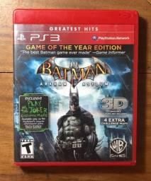 Batman Arkham Asylum - PS3 (Mídia Física)