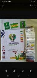Álbum De Figurinhas Da Copa América 2019 Capa Dura Completo Para Colar