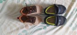 Vendo 2 sapatos infantis