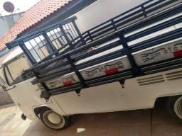 Kombi carroceria de madeira motor AP 1.8 de Santana