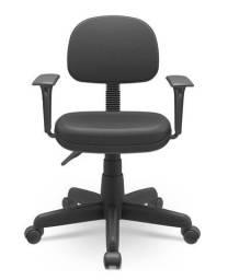 Cadeira Secretaria com braços regulaveis