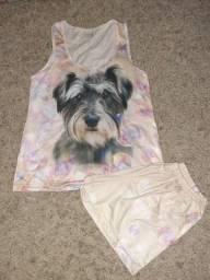 Pijama de Verão Cachorrinho
