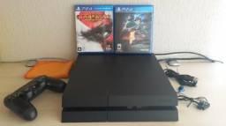 PlayStation 4 PS4 500GB (Usado - único dono)
