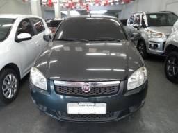 Fiat Siena el 1.4 2013 flex cinza metalico completo - 2013