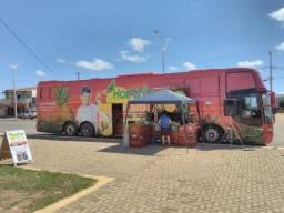Ônibus Loja Hortifruti Móvel