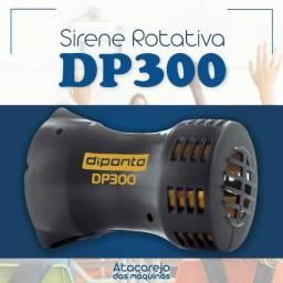 Sirene Eletromecânica 300m - DP300 - Diponto - Escolha sua voltagem