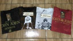 Camiseta John John Nova (Tamanho M e G) *Promoção