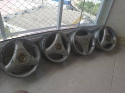 Roda esfiha de alumínio aro 13