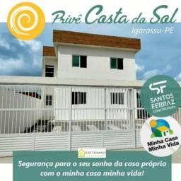 JGimoveis: casas estilo privê em Igarassu, zero de entrada!