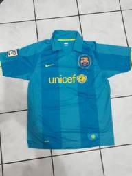 ec578c9bdb Camisa Futebol Barcelona Nike Unicef Tamanho G