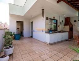 Cobertura à venda com 3 dormitórios em Caiçara, Belo horizonte cod:44854