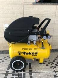 Compressor de Ar Tekna semi novo