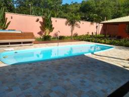 Salao com piscina