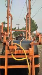 Pulverizador Jacto 600 litros manual, Revisado