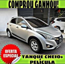 TANQUE CHEIO SO NA EMPORIUM CAR!!! HYUNDAI HB20X 1.6 ANO 2015 COM MIL DE ENTRADA