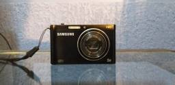 Câmera Samsung DV 300F com tela LCD frontal