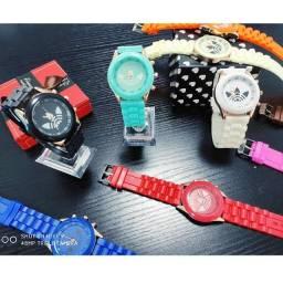 Relógio de Quartzo Analógico Adidas Esportivo Masculino e Feminino - A pronta entrega