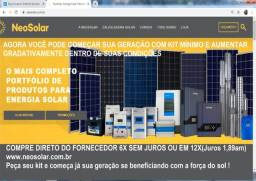 Energia Solar kit minimo