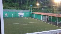Arena de futebol society em funcionamento na Cidade Nova III