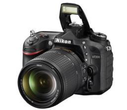 Nikon D7200 Câmera Digital 24.2 Mp Af-s 18-140mm Vr + Lente Nikon 50mm f/1.8G AF-S