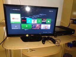 Xbox one e TV 24 polegadas