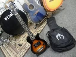 Guitarra EpiPhone Les Paul Pee Wee Reve Rig Com Capa