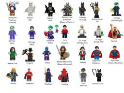 Minifigures (compatível com Lego) DC Marvel e Star Wars