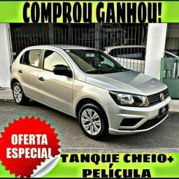 TANQUE CHEIO SO NA EMPORIUM CAR!!! VW GOL 1.6 MSI ANO 2019 COM MIL DE ENTRADA