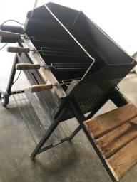 Churrasqueira gira gril
