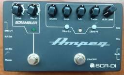 Pedal Ampeg preamp bass e DI! Excelente som para o seu baixo!