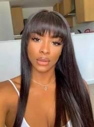 Promoção Wig Arianna Disponível Cor Castanho Escuro