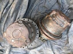 Motores de tração de várias máquinas