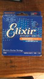 Encordoamento elixir guitarra