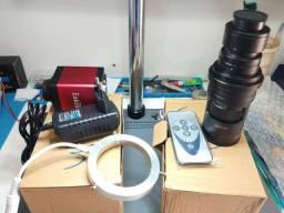 Camera para microsoldagem e reparação de celulares ou PCs