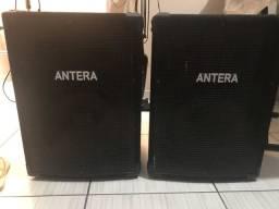 Caixas de som passivas 300 Wttas RMS ANTERA - novas