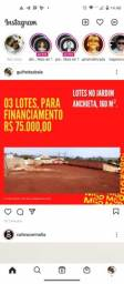 03 lotes. Jardim Anchieta