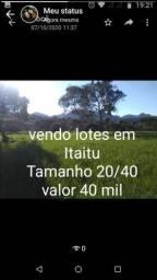 Vendo lotes em Itaitu! Ótima localização