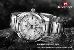 Promoção Relógios NaviForce de Aço a Prova D'água