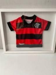 Camisa do Flamengo emoldurada
