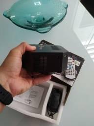 Vendo mini projetor portátil Led 60 polegadas novo
